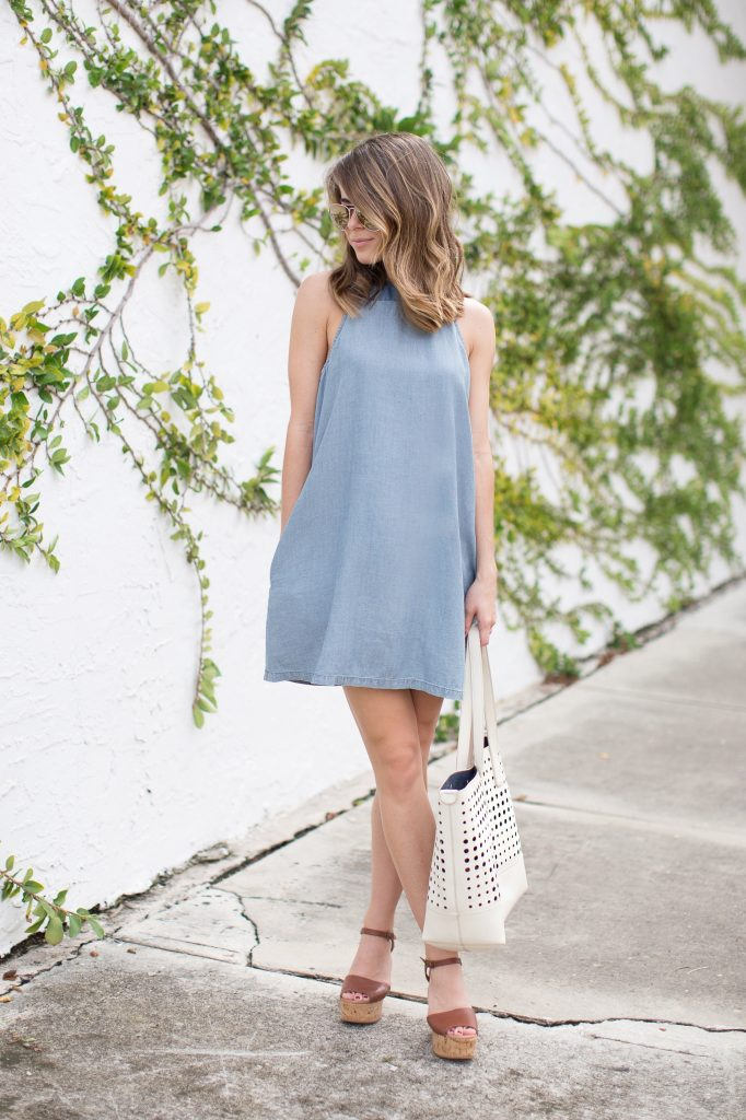 Denim X Dress