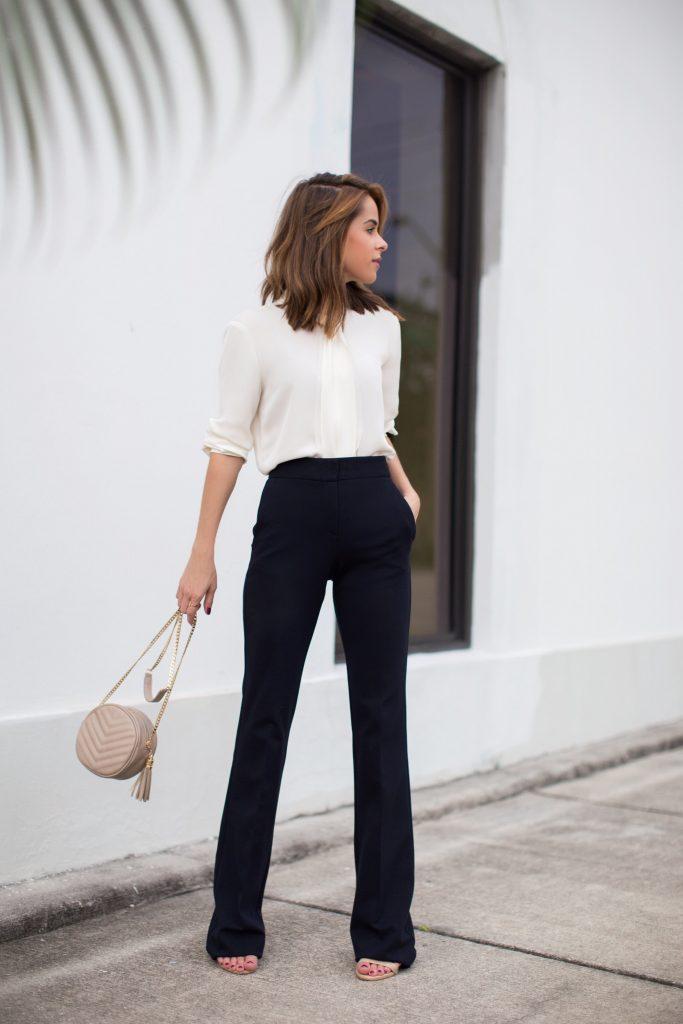 dcd9f834ee ... sem perder o estilo! Uma das grandes preocupações das mulheres é montar  bons looks para trabalhar