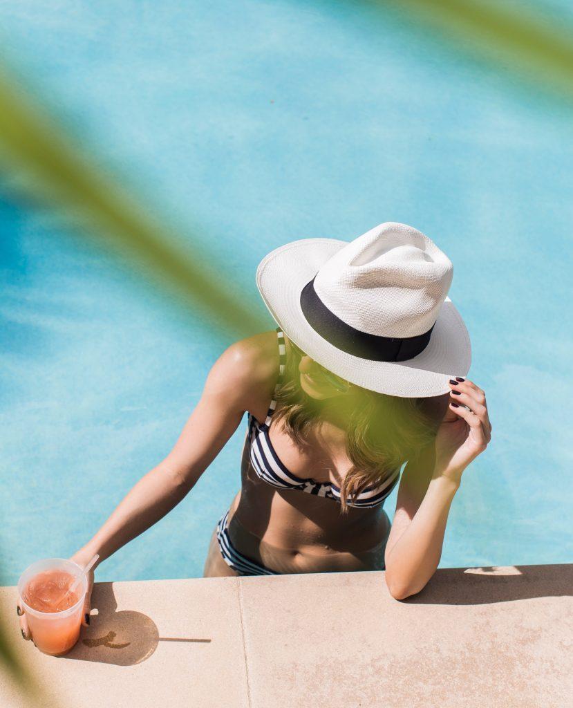 J.Crew Striped Bikini