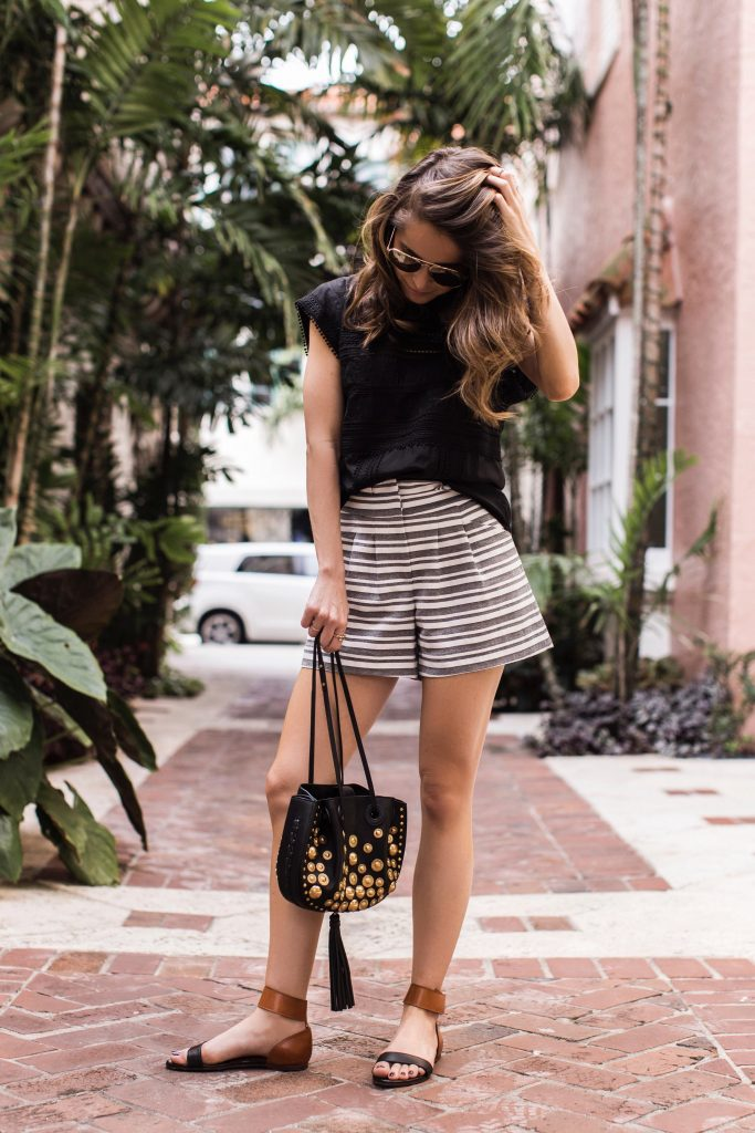 Blogger wearing Veronica Beard
