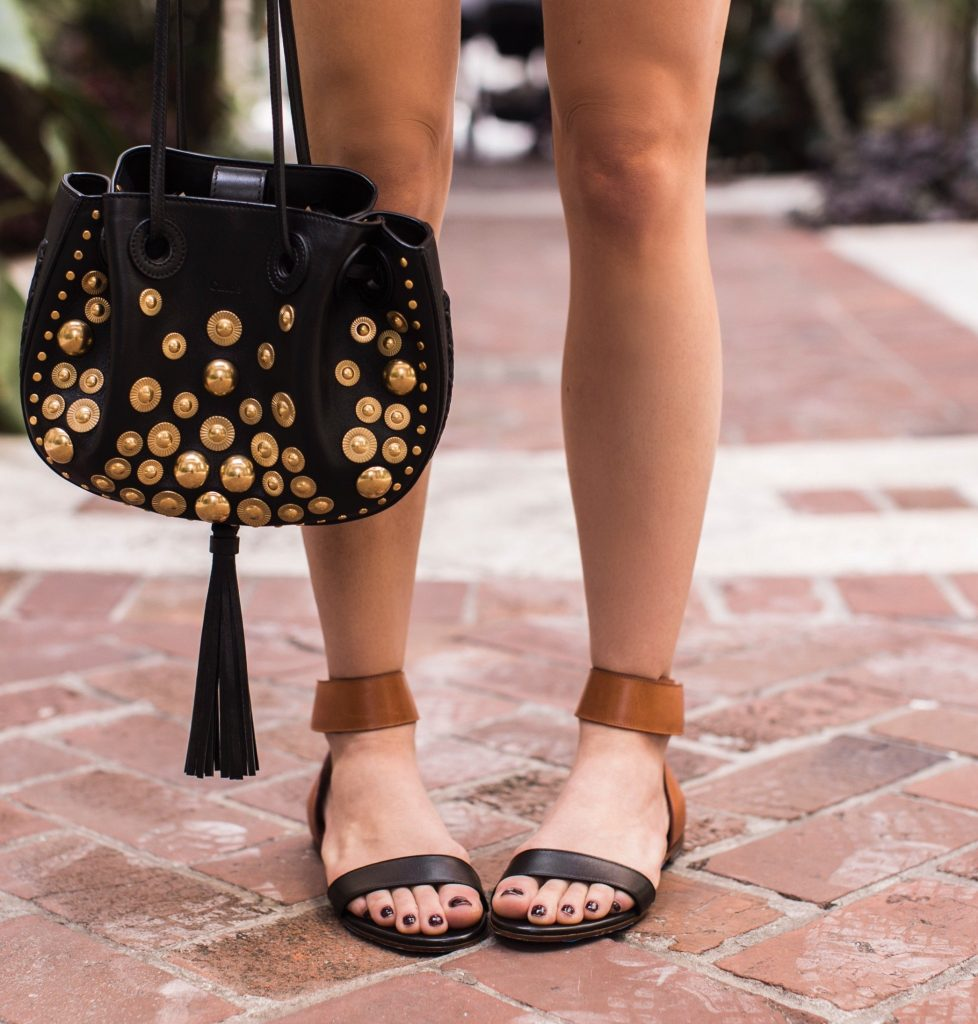 Blogger wearing Chloe bag