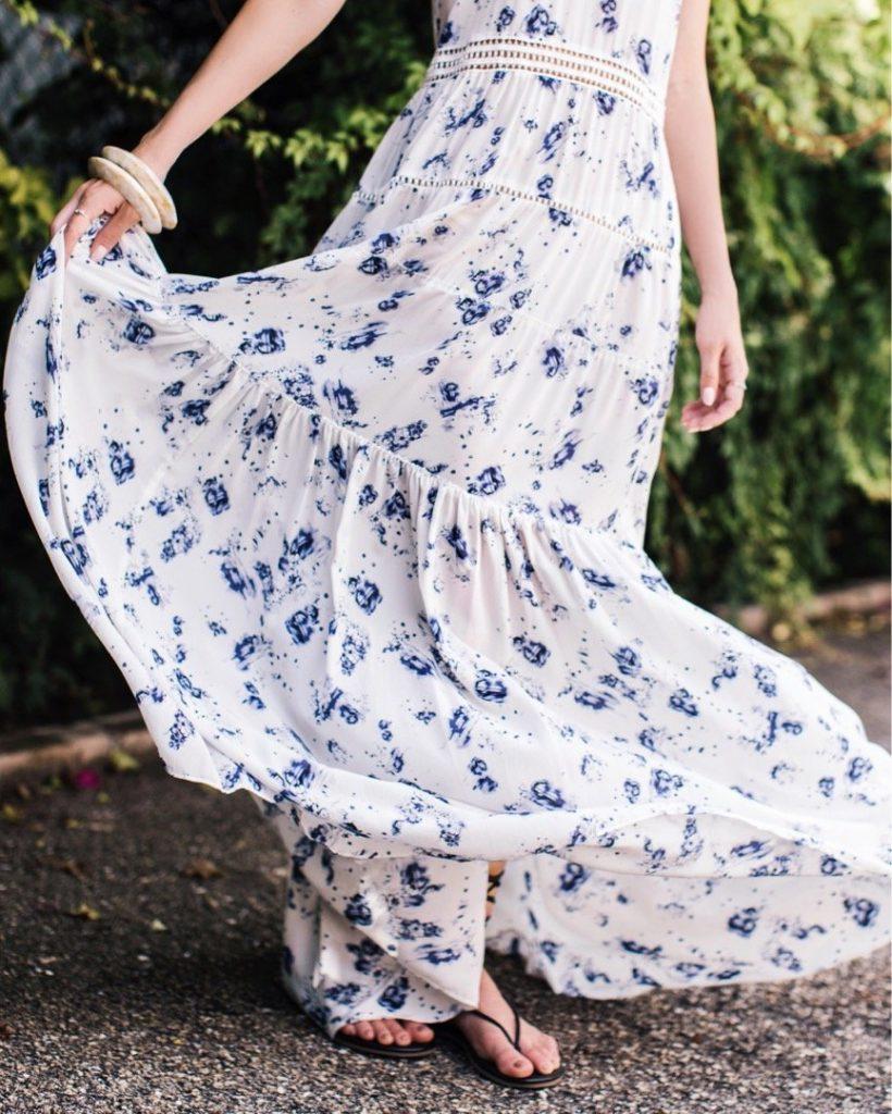 Sleeveless Meteor Maxi Dress by Rebecca Taylor