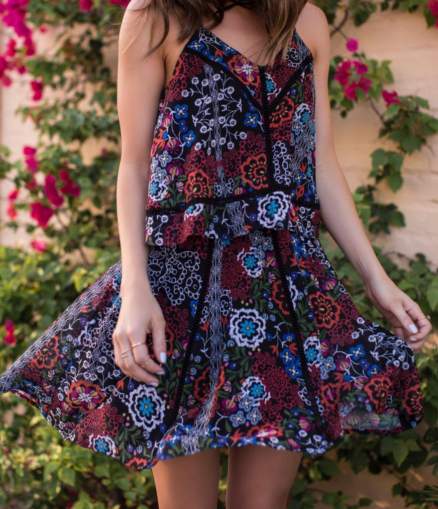 Bordor Flor Mini Dress by Nicholas