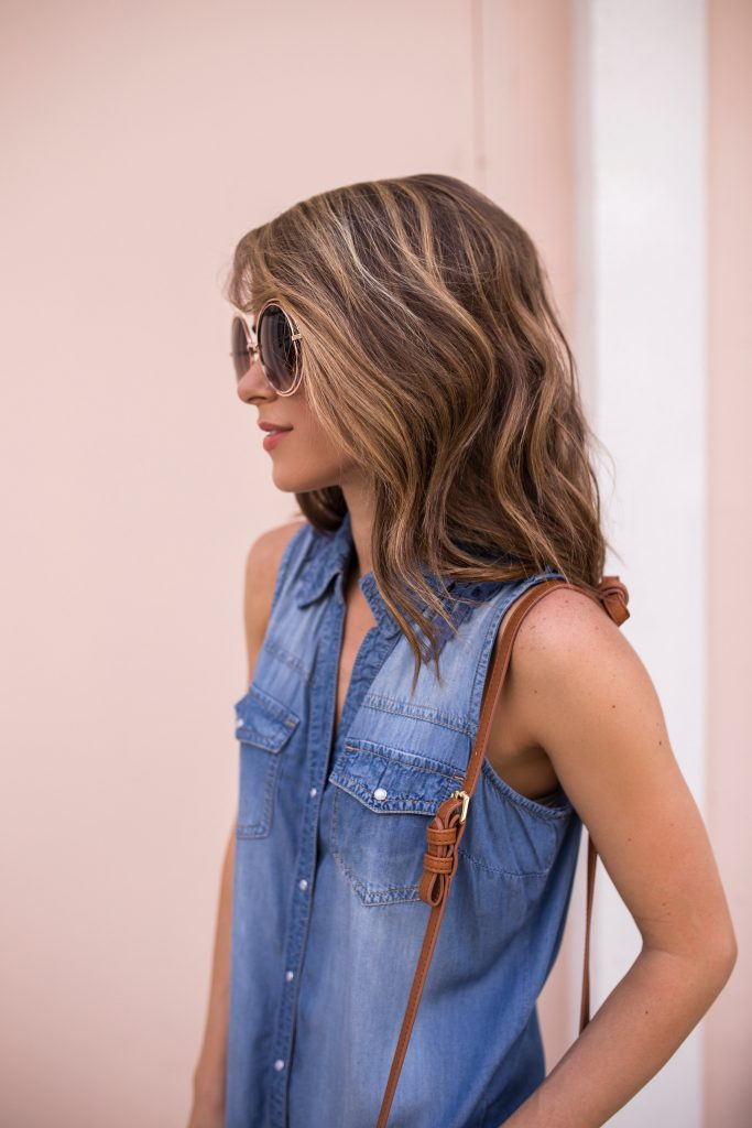 Boho-Denim Dress