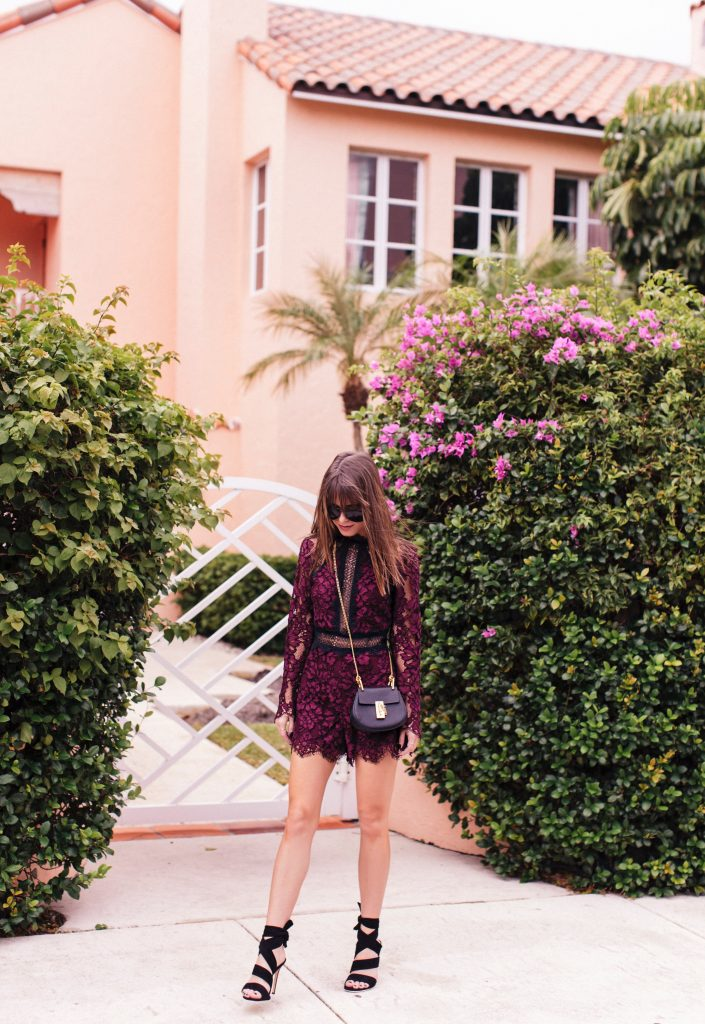 The Style Bungalow wearing Alexis Romper