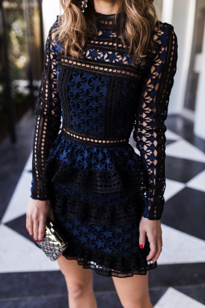Self Portrait Dress from Bergdorf Goodman