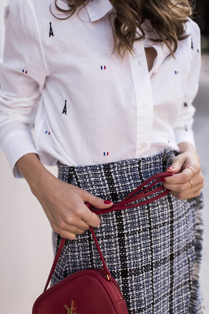 Leema Embroidered Poplin Shirt - The Style Bungalow
